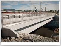 Федеральная автомобильная дорога М60. Мост через реку Саперку