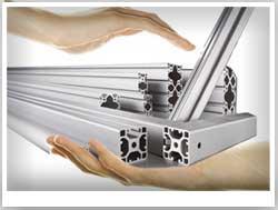 алюминиевый профиль для витрин
